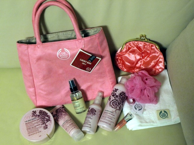 THE BODY SHOP 5,000円福袋