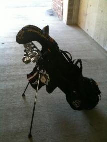 愛用ゴルフバッグ