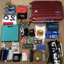 遠征用の荷物