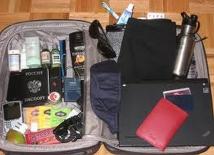旅行の必需品