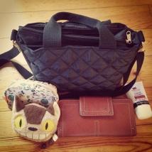 今日のバッグ。