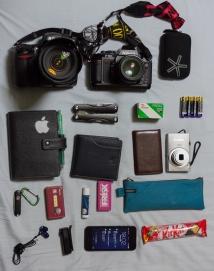 【F501】カメラバッグの中身【NEOPAN 400】