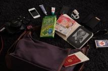 いつもの旅行バッグ