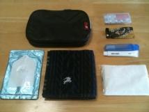 衛生品一式ポーチ (Handkerchief Pouch) 2011年9月版