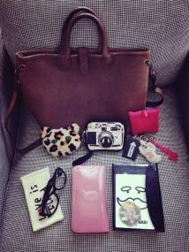 お気に入りのバッグ。