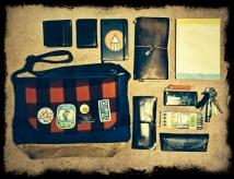 通勤時のバッグです。