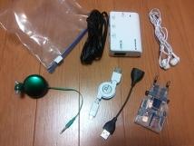 海外用充電セット+イヤフォン