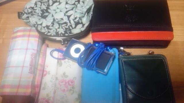 ポメラが入って少し変わった鞄の中身
