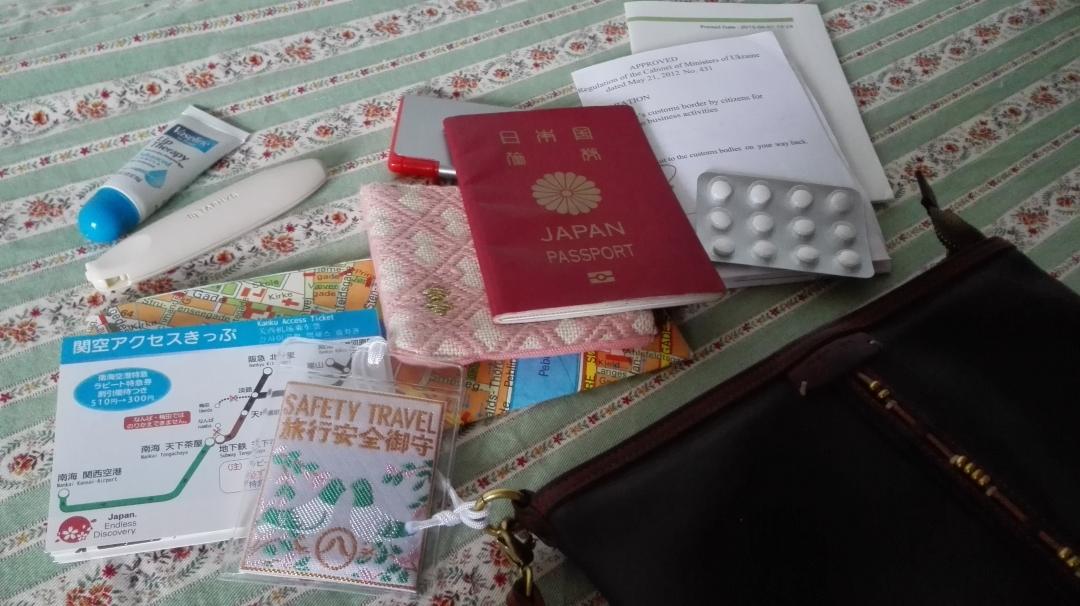 旅のお供鞄