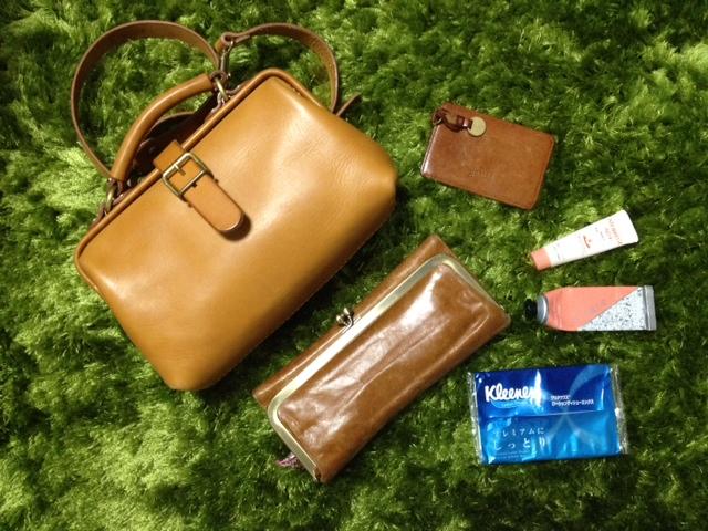 荷物が少ない時のぶらりお出かけバッグ