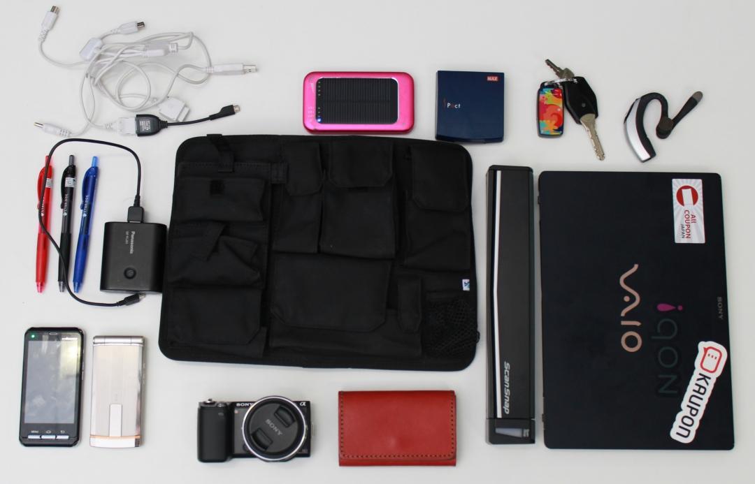 普段の仕事用のバッグ
