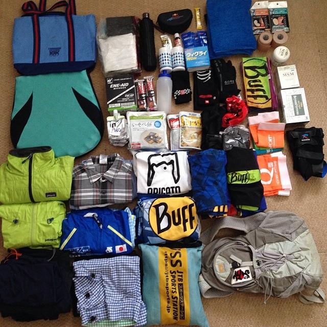 海外遠征用荷物