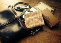日々のお供鞄、中身マイナーチェンジ