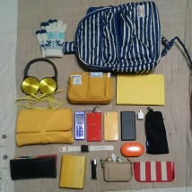 普段の鞄【シンプル版】