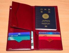 Valextraのパスポートケース