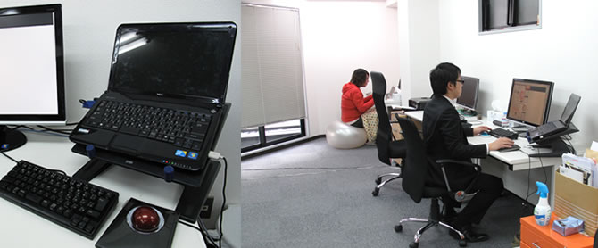 株式会社ホットココアのオフィス