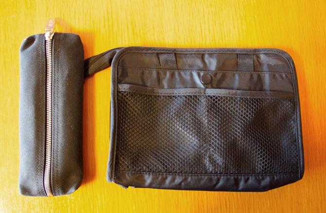 「MUJI」のポーチ(Bag in Bag)