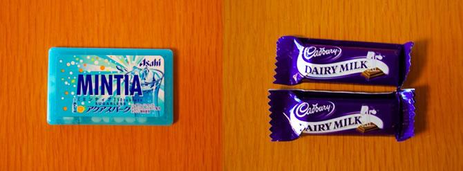 MINTIA /「Cadbury」のチョコレート