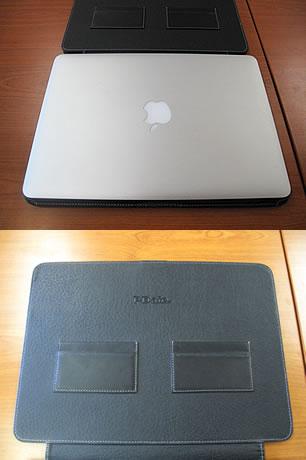 MacBook Airの13インチと革ケース