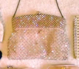 ビンテージのラインストーンバッグ