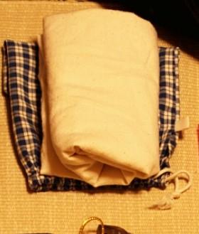 無印良品の布製のマイバッグ(A4ワイド)