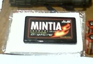 ミンティアとポケットティッシュ