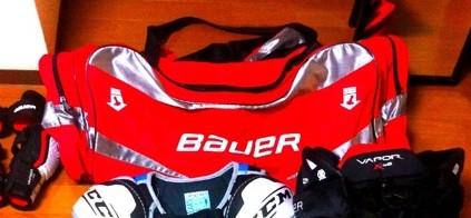 Bauerのバッグ