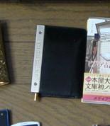 ゴルチェのシステム手帳とウォーターマンのボールペン