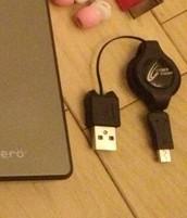 3DS用充電ケーブル