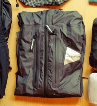 e-Vent rain jacket