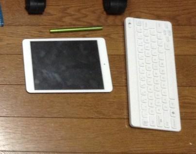 ipadminiとキーボード