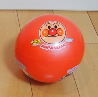 アンパンマンのソフトボール