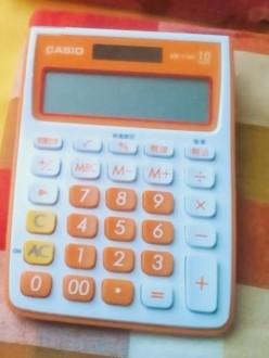 カシオの電卓
