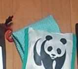 FELISSIMO 防水加工のエコバッグ