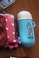 平野刷毛製作所 ヘアブラシ mini in Richell SNOOPY 赤ちゃんせんべいケース 筒タイプ
