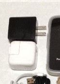 Pocket Wi-Fi (e-mobile)とiPad2の電源