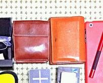 財布と名刺入れ