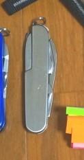 アーミーナイフ ナイフ系