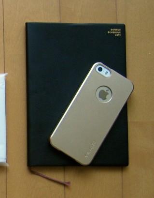 手帳、iPhone 5s