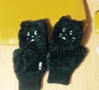 にゃーの手袋