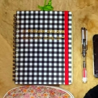 ロルバーンの手帳とLAMYの万年筆