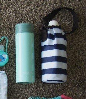 水筒と保温カバー