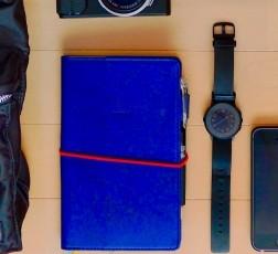 手帳 & 時計