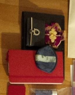 モレスキン、現地用お財布、フェラガモカードケース、Surface