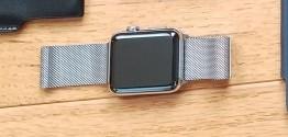 Apple Watch S2 ステンレス ミラネーゼループ