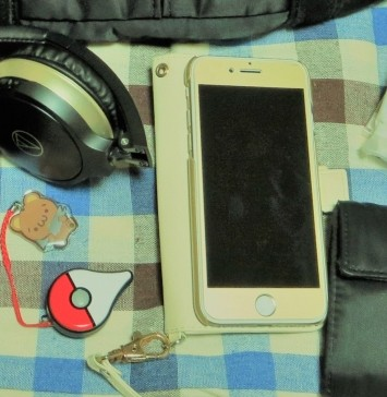 iPhone7とGoPlus