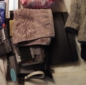 タオル、手帳、色々ポーチ