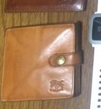 IL BISONTE 二つ折り財布