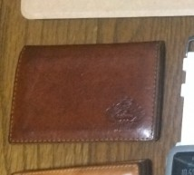Orobiancoのカードケース