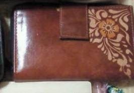 山羊革財布